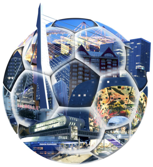 Groeneweg fotocompilatie 'Bal Rotterdam