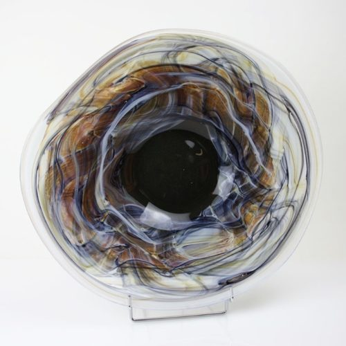 Loranto glas Vaas 'Earth'