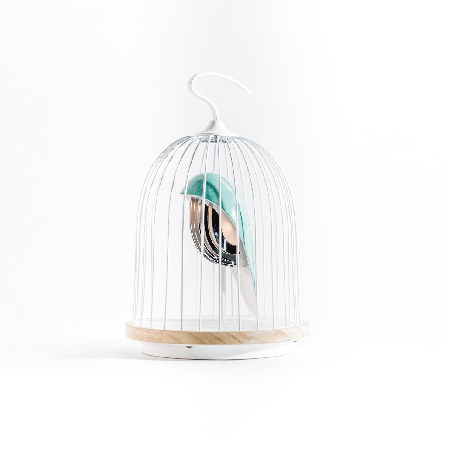 DAQIconcept Jingoo Bluetooth speaker 'L'oiseau Blue'