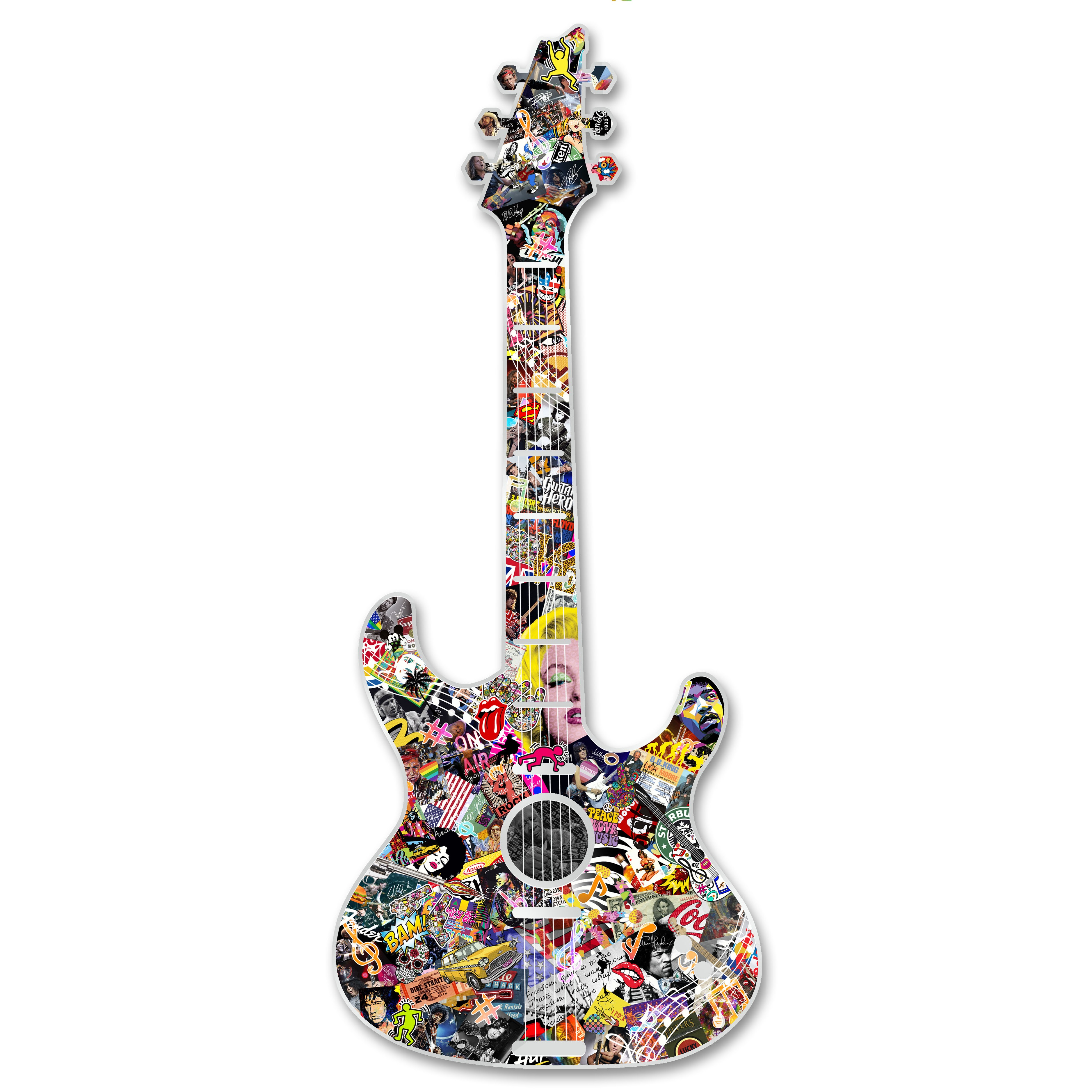 Michael Daniels POP-ART 'Our Rock Legends'