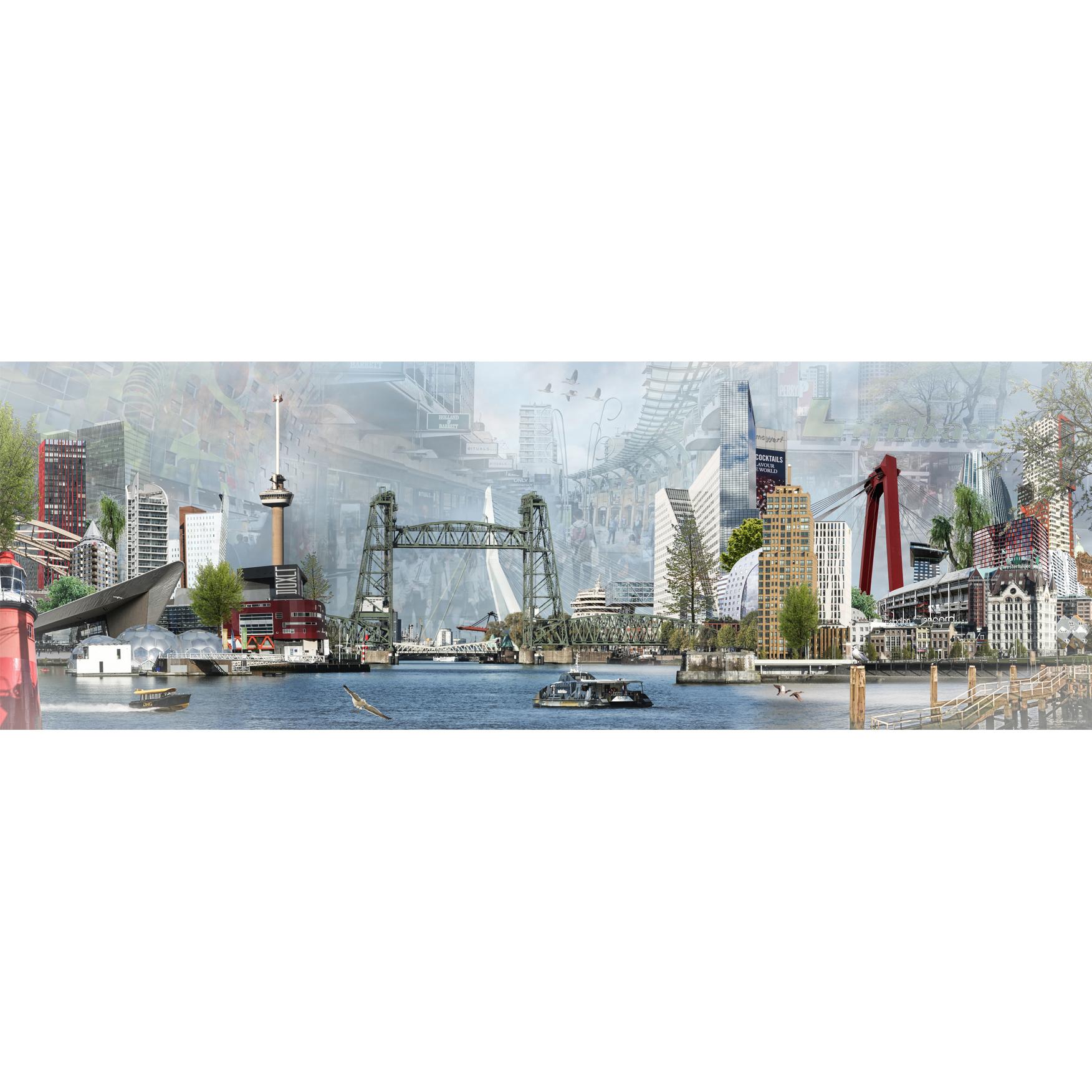 Groeneweg fotocompilatie 'The Bridge Rotterdam'