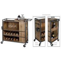 Casablanca design mobiele wijnbar 'Factory'.