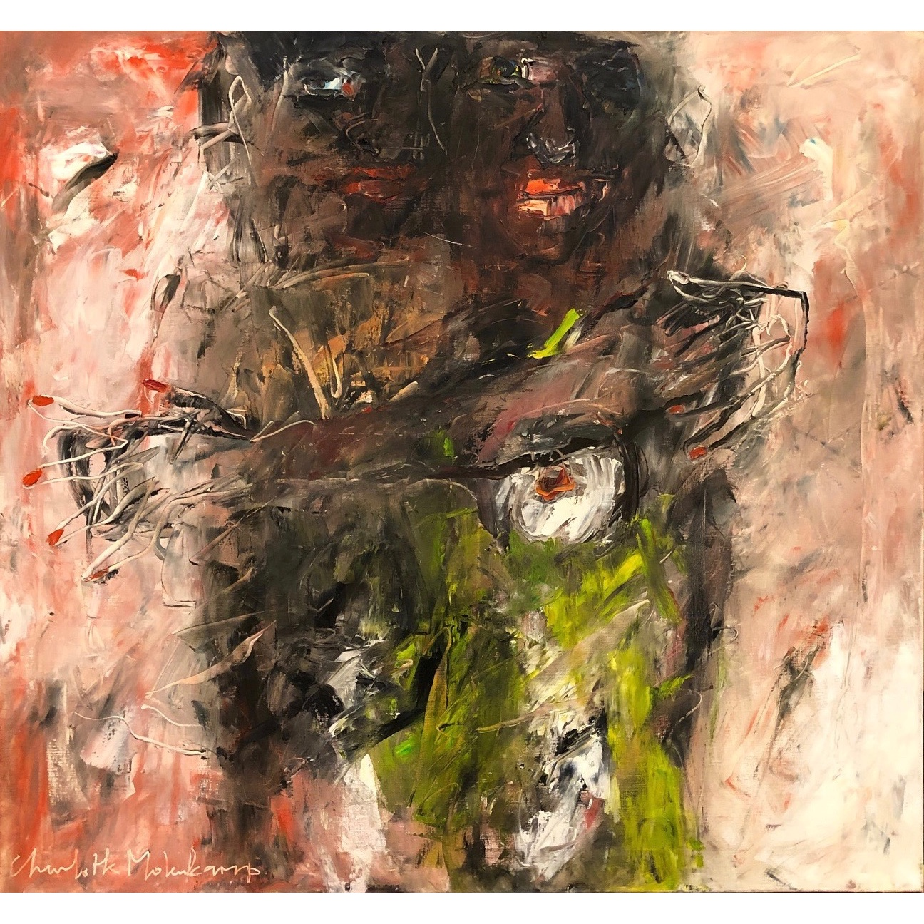 Charlotte Molenkamp schilderij 'Secret Love'