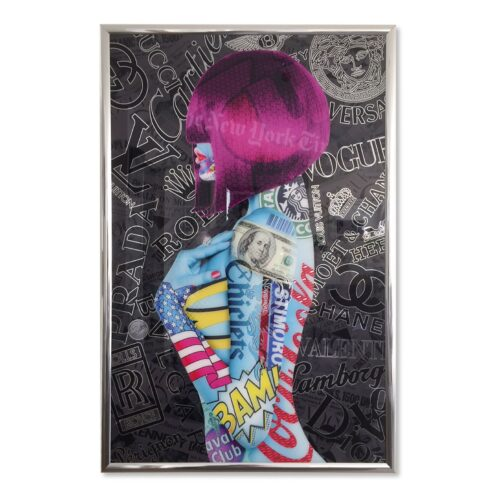 Michael Daniels POP-ART 'Body Fashion'