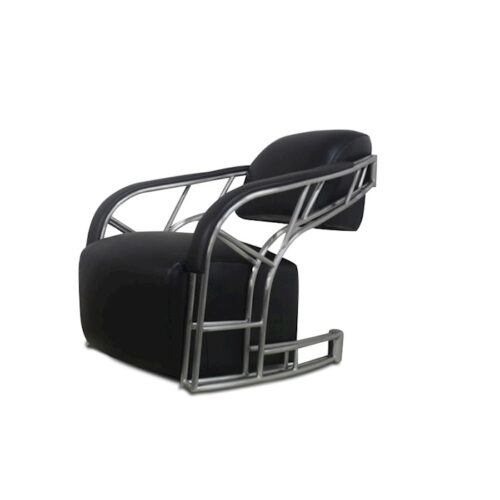 Peri Design 'Luckx Indus easy-chair Black'