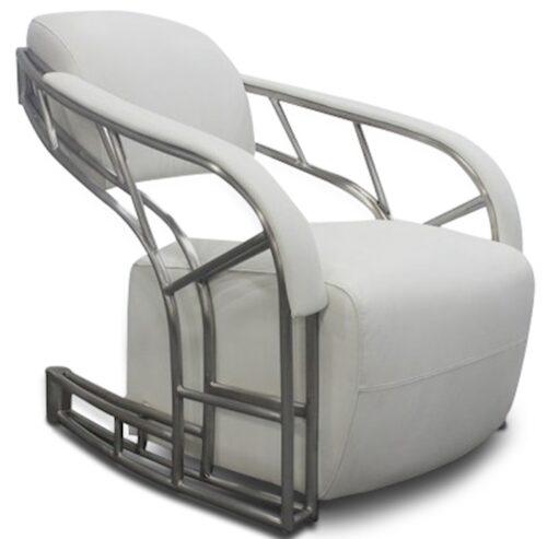 Peri Design 'Luckx easy-chair Indus White'