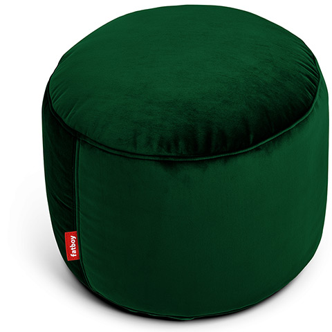 Fatboy poef point velvet 'Emerald Green'
