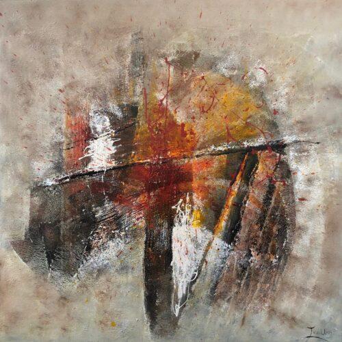 Twan van der Ven schilderij 'Abstract'