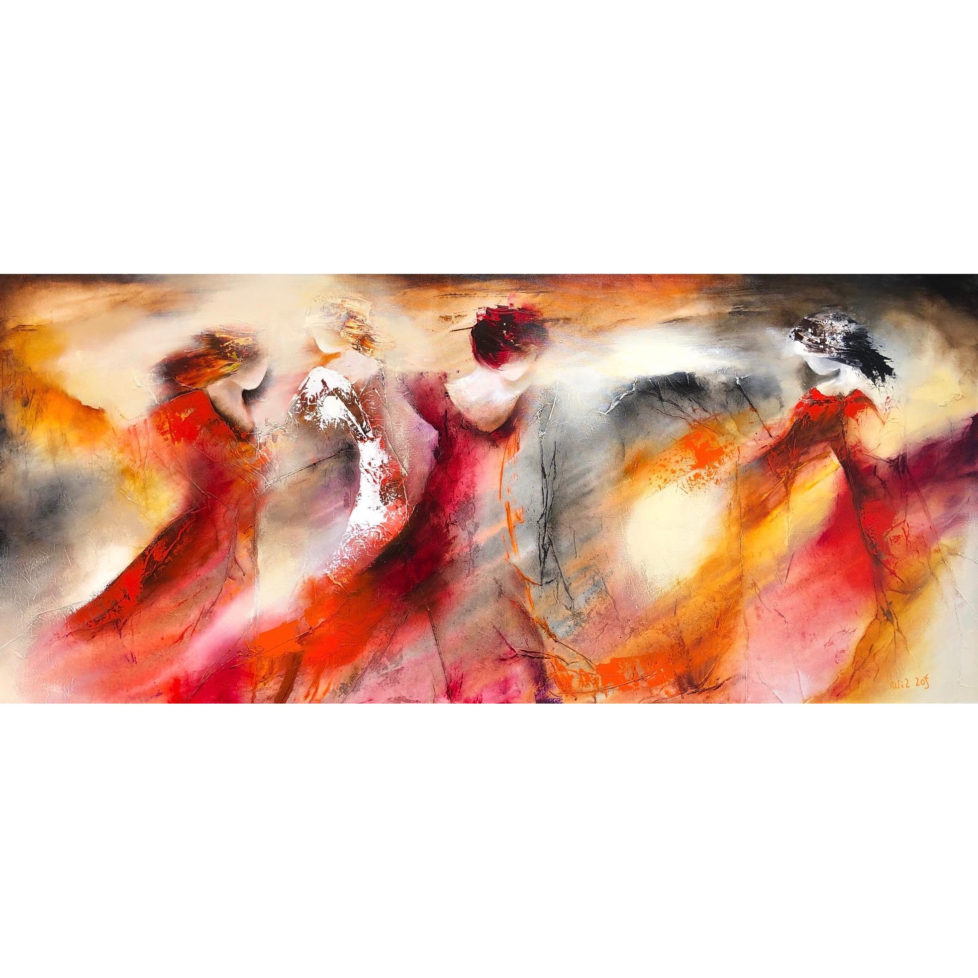 Wil Lof schilderij 'Avenue 1701'