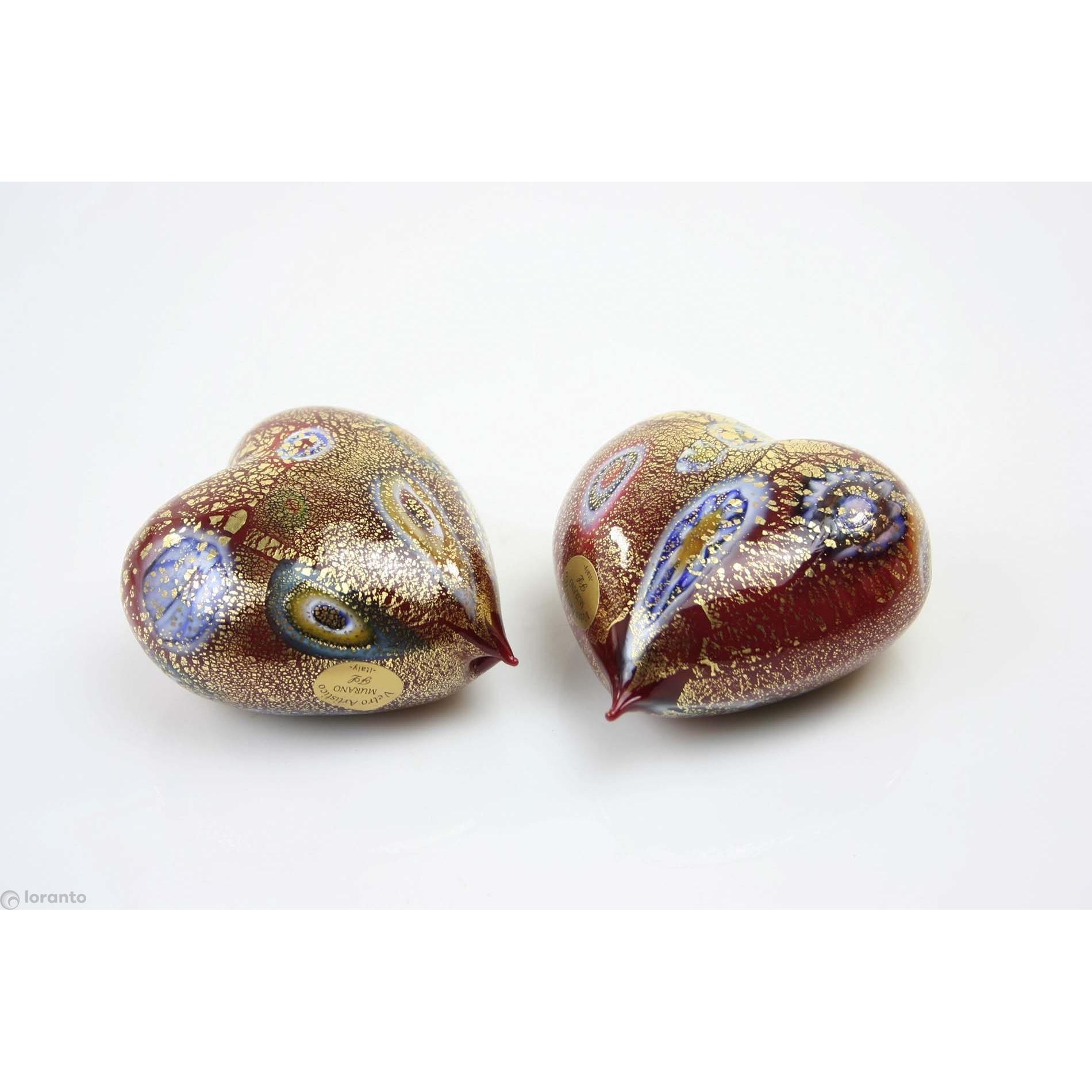 Murano glas beeld 'hart'