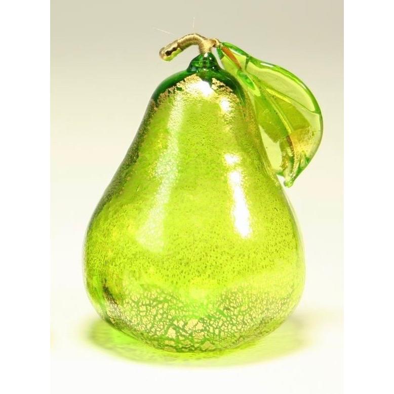 Murano glas beeld peer 'Groen'