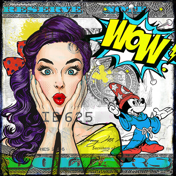 Micha Baker artwork 'WOW'