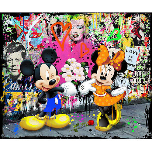 Micha Baker artwork 'Love is the answer'