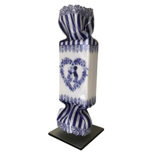 Michael Daniels Art Candy 'Delfts blauw'