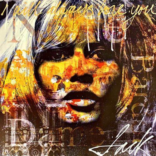 Jack Liemburg schilderij 'Brigitte Bardot'