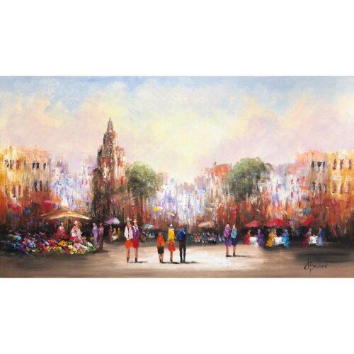 Henry Brand schilderij 'Square'