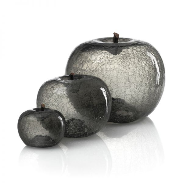 Bull & Stein Apple crackled glass 'Zirconium XL'