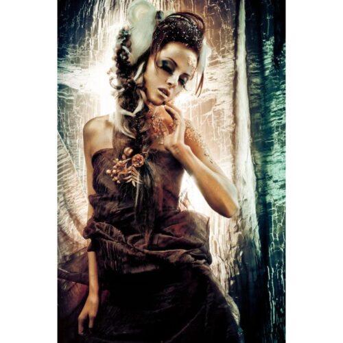 Glas schilderij 'Dancing Girl'