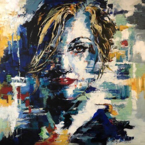 Ricky Damen schilderij 'Vertrouwen'