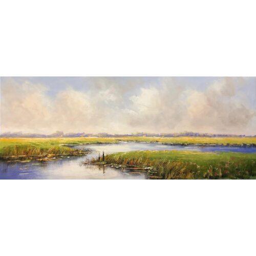 Jochem de Graaf schilderij 'Landscape'