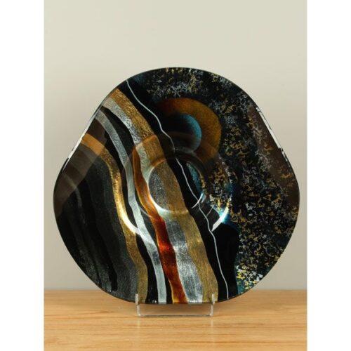 Design Glas Schaal Hoed 'Sunrise'