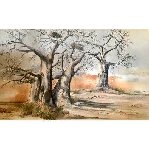 Vanessa Lomas schilderij 'Valley of Giants'