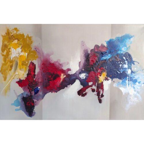 Margret Mijsbergh schilderij 'Vulcano'