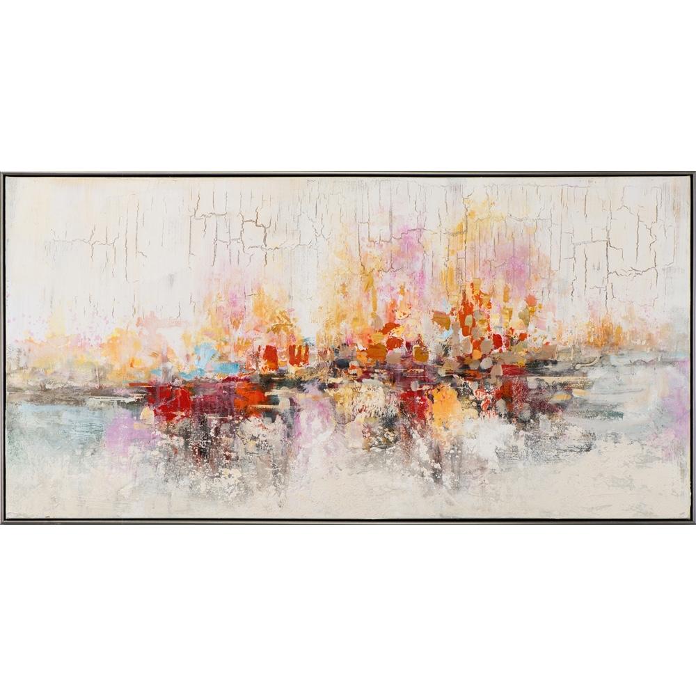 Schilderij 'Abstract kleurrijk I'