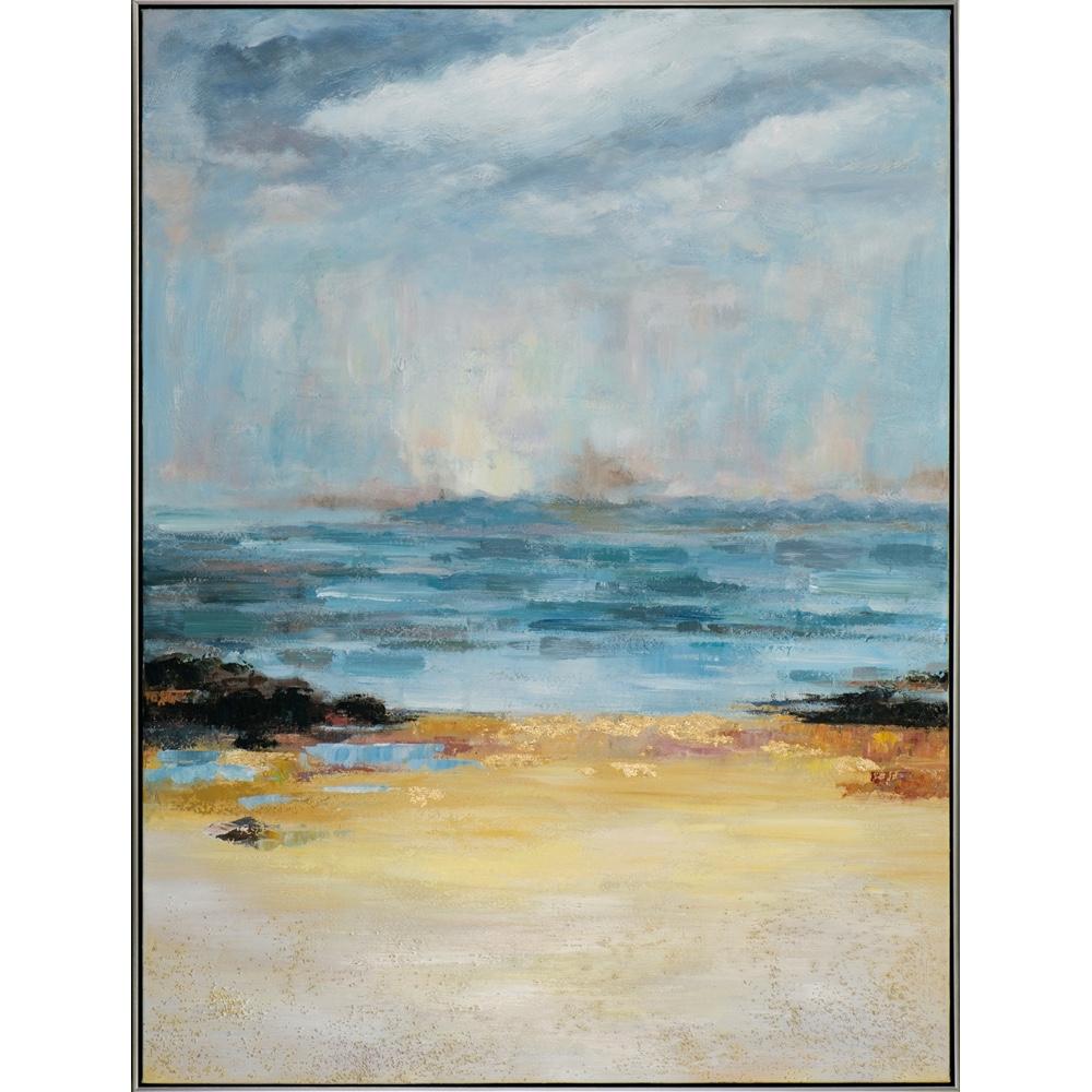 Schilderij 'Abstract zeegezicht'