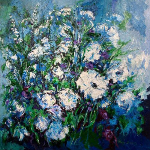 Ricky Damen schilderij 'Celebrate'